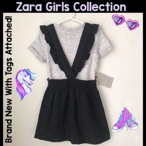 ❣️SALE! NWT Adorable Zara Brand Suspender Dress!😍